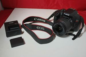 Canon EOS Rebel T6 DSLR Camera with EF-S 18-55mm f/3.5-5.6 IS II Lens for Sale in Bloomfield, NJ