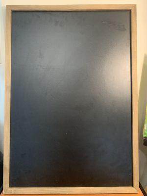 Hangable Chalk Board for Sale in Starkville, MS