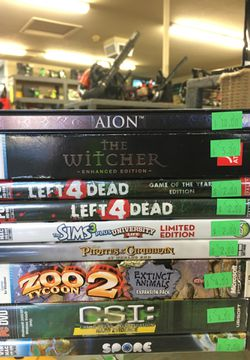 Pc games for Sale in Edmonds,  WA