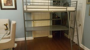 Ikea twin bed with desk for Sale in Alafaya, FL