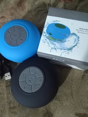 New Mini Waterproof Wireless Speakers BTS-06 Shower 2.0 Bluetooth Portable Speaker With Built-in Microphone for Sale in Maryland Heights, MO