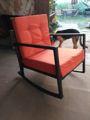 New extra wide wicker rocking chair. for Sale in West Puente Valley, CA