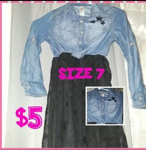 GIRLS CAT&JACK DRESS WILL LOOK CUTE WITH BOOTS for Sale in Merced, CA