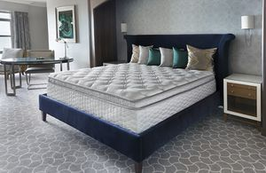 "SALE⭐️THIS WEEKEND ONLY⭐️EXTREMELY COMFORTABLE NAME BRAND SERTA 14"" DOUBLE PILLOWTOP MATTRESSES⭐️BRAND NEW⭐️FREE LOCAL DELIVERY 🚚 for Sale in Las Vegas, NV"