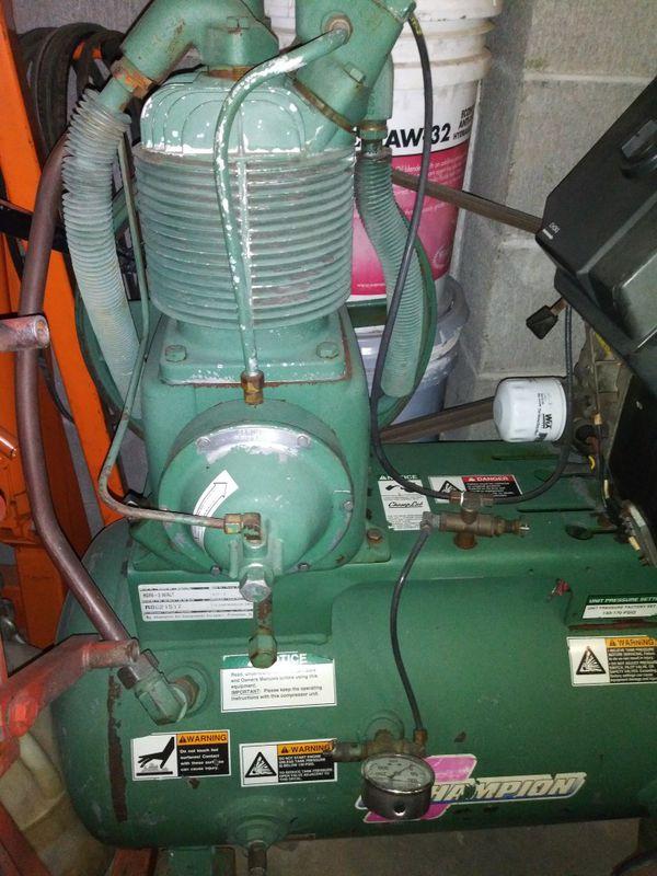 Champion Kohler Powered Air Compressor