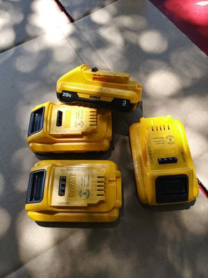 Dewalt 3.0 ah Batteries 20v 🔥 NEW $45 EACH or best offer for Sale in San Bernardino, CA