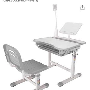 Kids Adjustable Height Desk & Chair Set for Sale in Westborough, MA