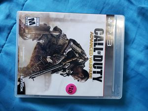 PS3 Game Call of Duty Advance Warfare for Sale in El Cajon, CA