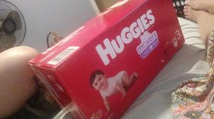 Huggies little movers size 3 brand new in the box for Sale in Grand Prairie, TX