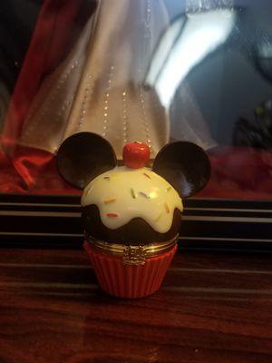 Disney LENOX Mickey Mouse Cupcake Sprinkles Trinket Treasure Box for Sale in Los Angeles, CA