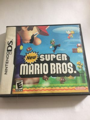 Rare vintage super Mario brothers Nintendo DS 2006 for Sale in Norco, CA