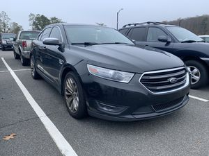 2013 Ford Taurus Limited clean black with black leather for Sale in Southington, CT
