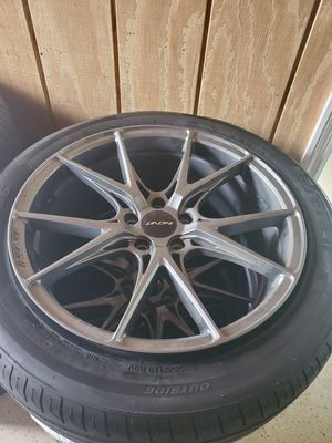19 inch rims and tires 1200 for Sale in Port St. Lucie, FL