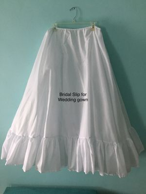 Bridal Petticoat for wedding gown for Sale in Waynesburg, PA