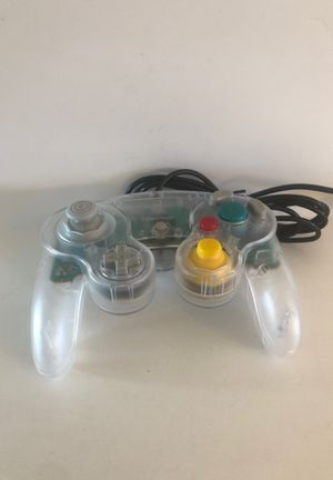 GameCube controller *New* Clear for Sale in Sterling Heights, MI