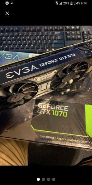 EVGA GTX 1070 SC GPU 8gb for Sale in Rushville, MO