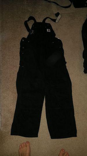 4pair Carhartt bib overalls 40x30 for Sale in McDonough, GA