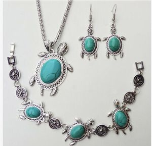 Turquoise Sea Turtle Jewelry Sets 3pcs Set Necklace Bracelet Earrings for Sale in Orlando, FL