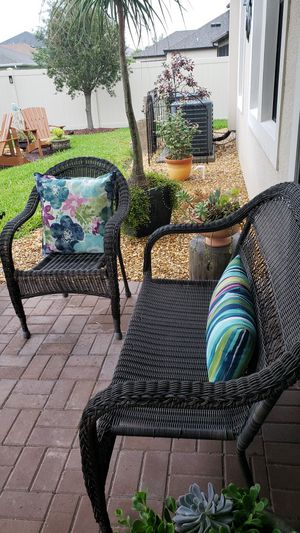 Wicker chair and sofa for Sale in Zephyrhills, FL