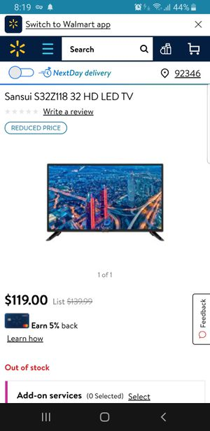 New tv for Sale in San Bernardino, CA