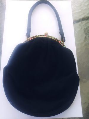 Coblentz Original 1950s Designer Evening Bag Brushed Suede for Sale in Treasure Island, FL