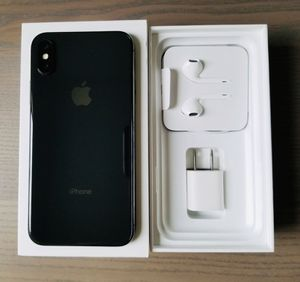 iPhone X - Space Gray for Sale in Auburn, WA