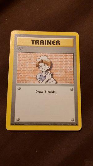 1995 bill pokemon collector card for Sale in Phoenix, AZ