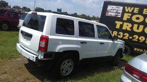 jeep patriot año 2011 automática trabajando muy bien cuenta con cd player for Sale in Houston, TX
