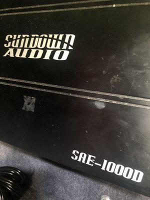 Sundown amp sae-1000d for Sale in Pittsburgh, PA