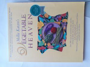 Mollie katzens Vegetable heaven Cookbook for Sale in Lancaster, OH