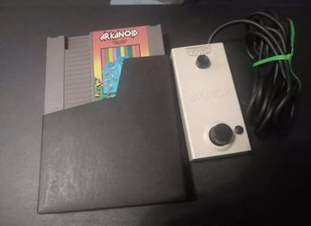 Arkanoid (Nintendo Entertainment System NES 1987) w/ Vaus Controller Video Games for Sale in Los Angeles,  CA