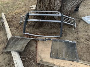 Truck metal bumper, grill and rock tamer for Sale in Benton City, WA