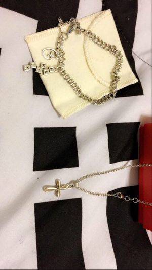 James Avery bracket charms necklace for Sale in San Antonio, TX
