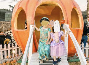 Aladdin Princess Jasmine toddler girl size 3-4 Halloween costume for Sale in West Covina, CA