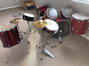 2 set Drums CB everything you see in the pictures 300 cash for Sale in Fort Washington, MD