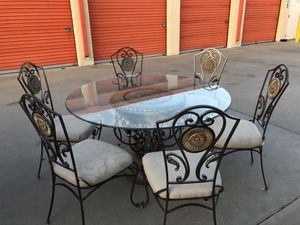 CAST IRON dining table set for Sale in Fontana, CA