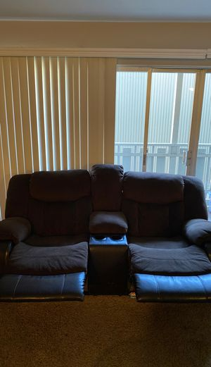 Reclining Couch and love seat for Sale in Belmont, CA