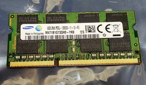 8GB DDR3 12800S LAPTOP MEMORY UPGRADE for Sale in National City, CA