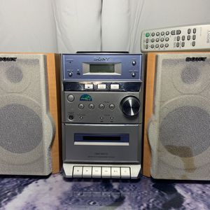 Sony Mini Stereo System With Remote for Sale in Spring Valley, CA