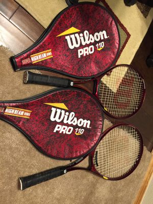 Wilson pro 110, Super high beam series L3, 4 3/8. Tennis Racket. for Sale in Happy Valley, OR