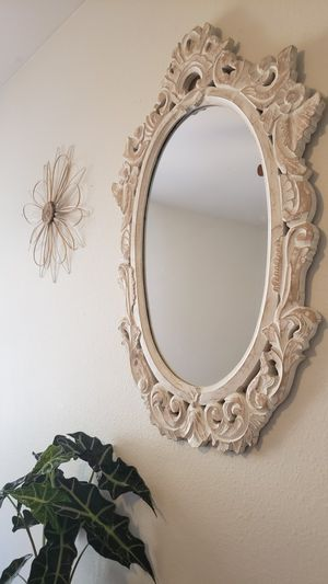Mirror/vintage vibes/wood mirror for Sale in Spring Valley, CA