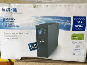 Eaton battery backup 1000 VA 600W for Sale in Chino, CA