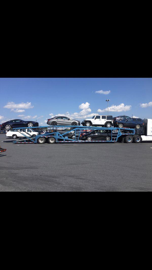 2002 7 car miller trailer like NEW