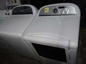 🎆🎈whirlpool cabrio washer large capacity dryer gas steam nice set🎈🎆 for Sale in Houston, TX