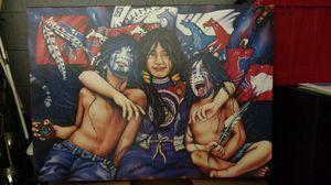 Cherokee sibling oil painting. for Sale in Kingsport, TN