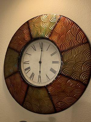 Fall Decor Clock for Sale in Pomona, CA