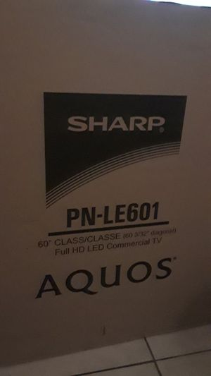 SHARP 60 INCH TV for Sale in Monterey Park, CA
