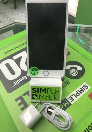Iphone 7 plus silver just for sprint 128GB for Sale in Hialeah, FL