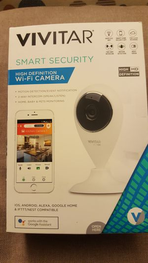Vivitar Smart Security Camera(Brand New) for Sale in Severn, MD