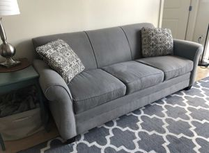 Gray Broyhill couch for Sale in Germantown, MD